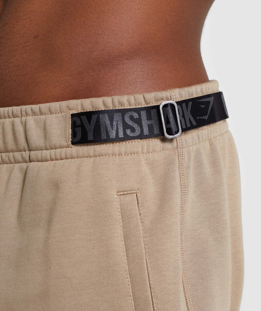 Gymshark Carbon Bottoms - Driftwood Brown 5