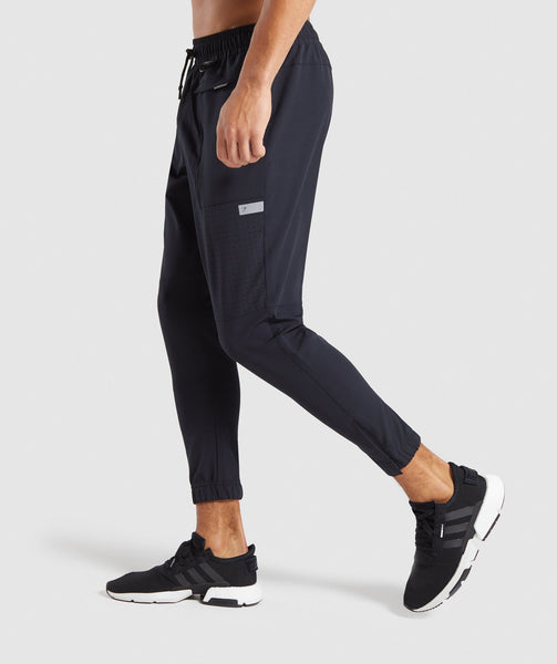 Gymshark Cargo Tech Bottoms - Black 2