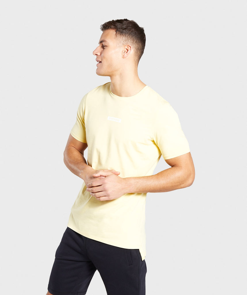 Gymshark Central T-Shirt - Yellow 1