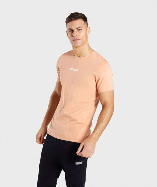 Gymshark Central T-Shirt - Orange 2
