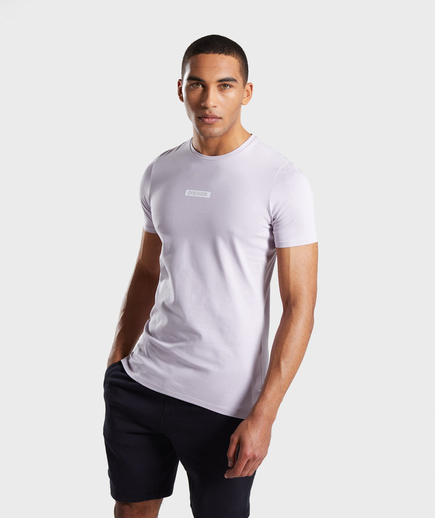 Gymshark Central T-Shirt - Purple 1