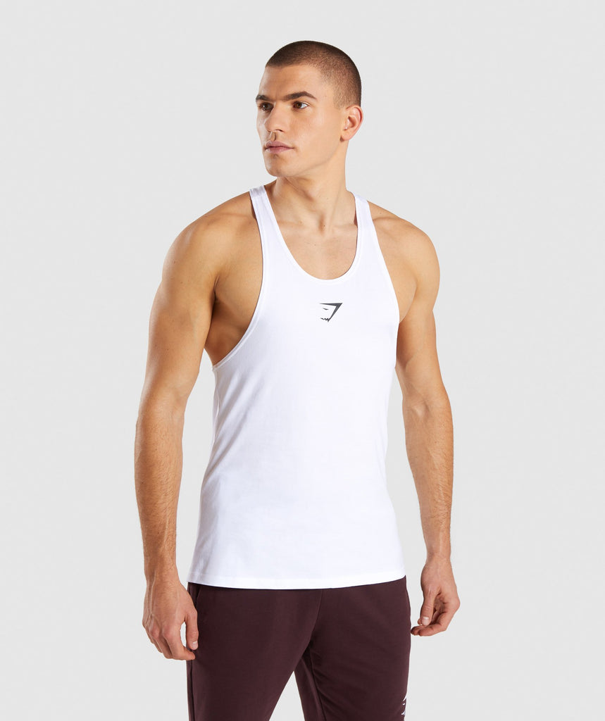 Gymshark Critical Stringer - White 1