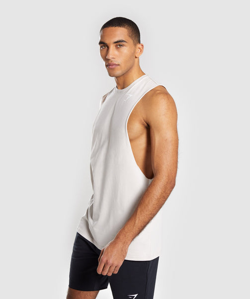 Gymshark Critical Drop Armhole Tank - Grey 2