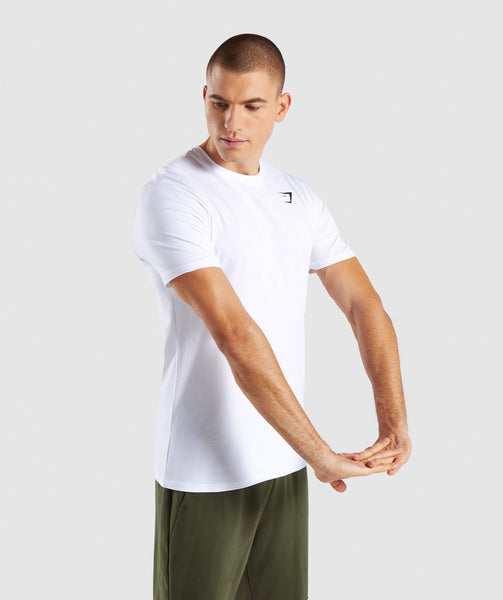 Gymshark Critical T-Shirt - White 2
