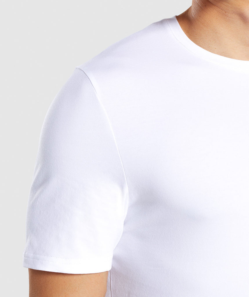 Gymshark Critical T-Shirt - White 5