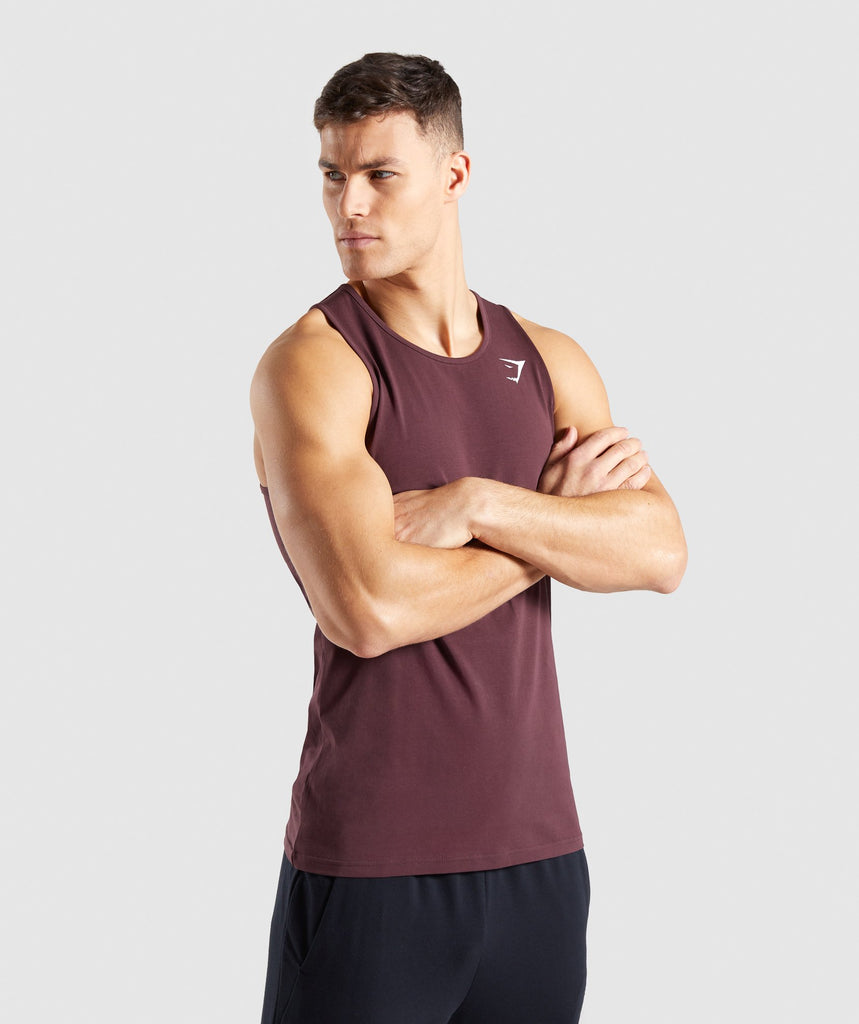 Gymshark Critical Tank - Red 1