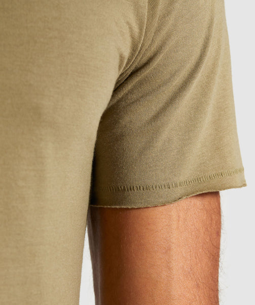 Gymshark Crucial T-Shirt - Light Khaki 4