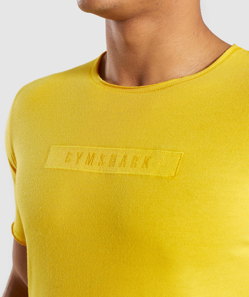 Gymshark Crucial T-Shirt - Yellow 5