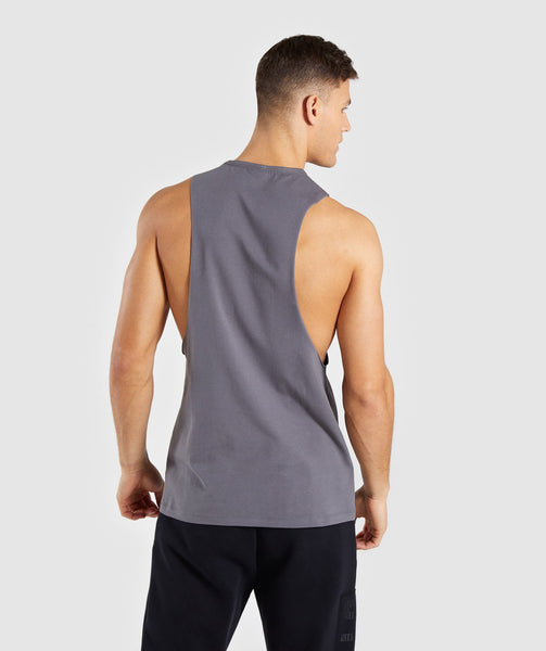 Gymshark Divide Tank - Smokey Grey 1