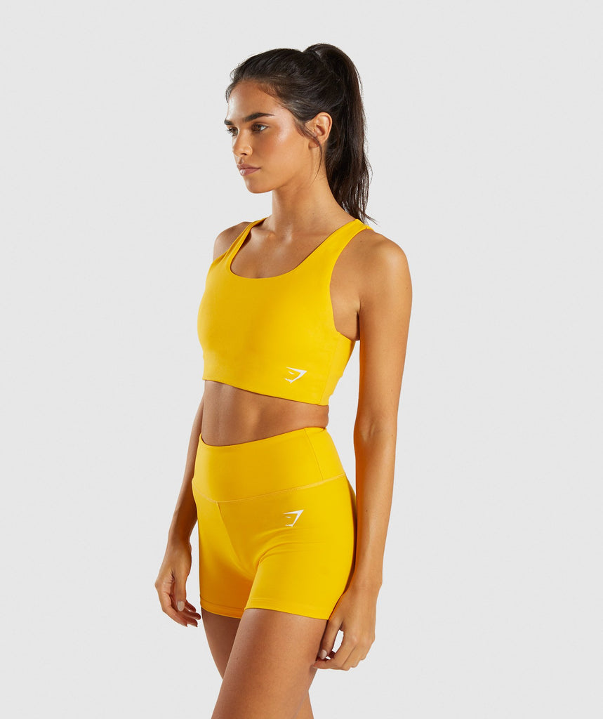 Gymshark Dreamy Sports Bra - Citrus Yellow 4