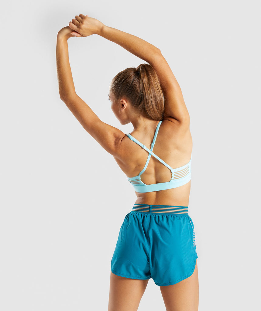 Gymshark Ease Sports Bra - Pale Turquoise 2