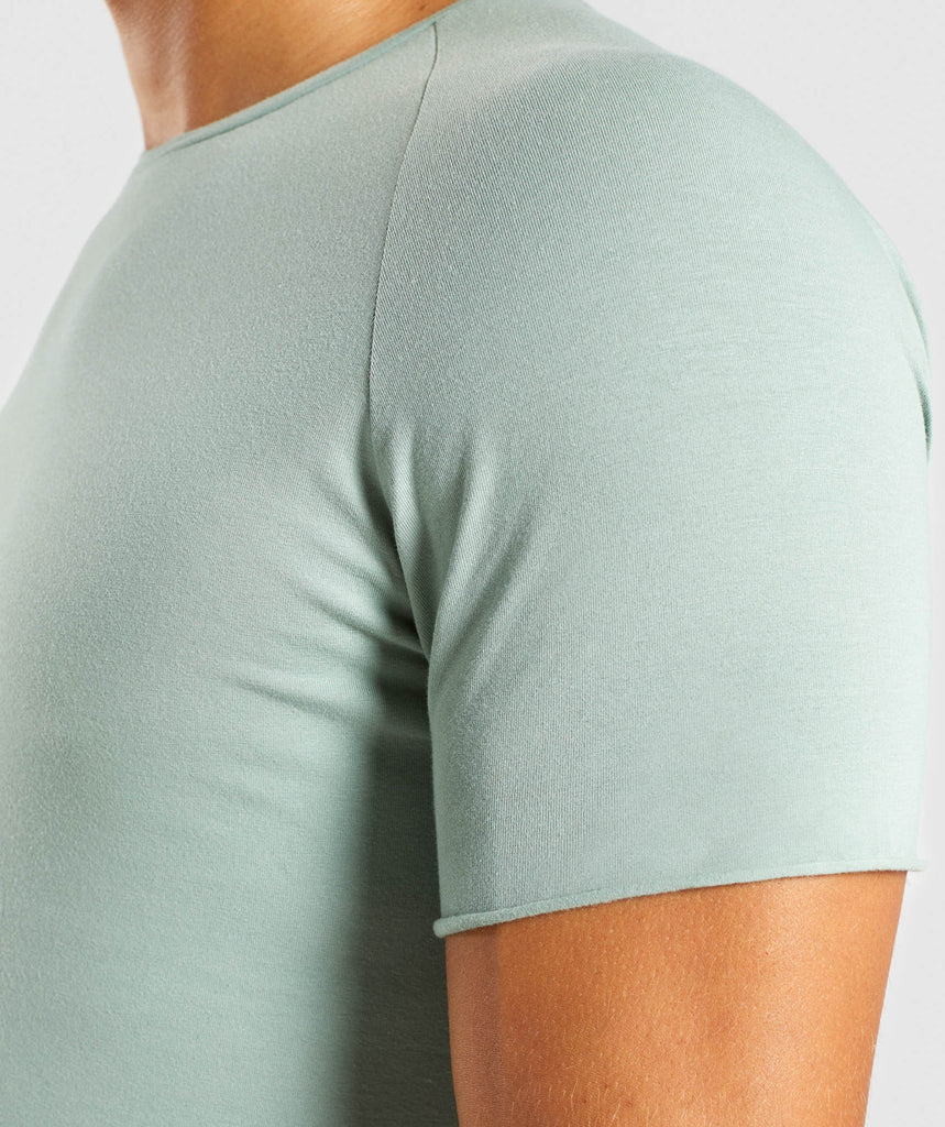 Gymshark Eaze T-Shirt - Pale Green 5