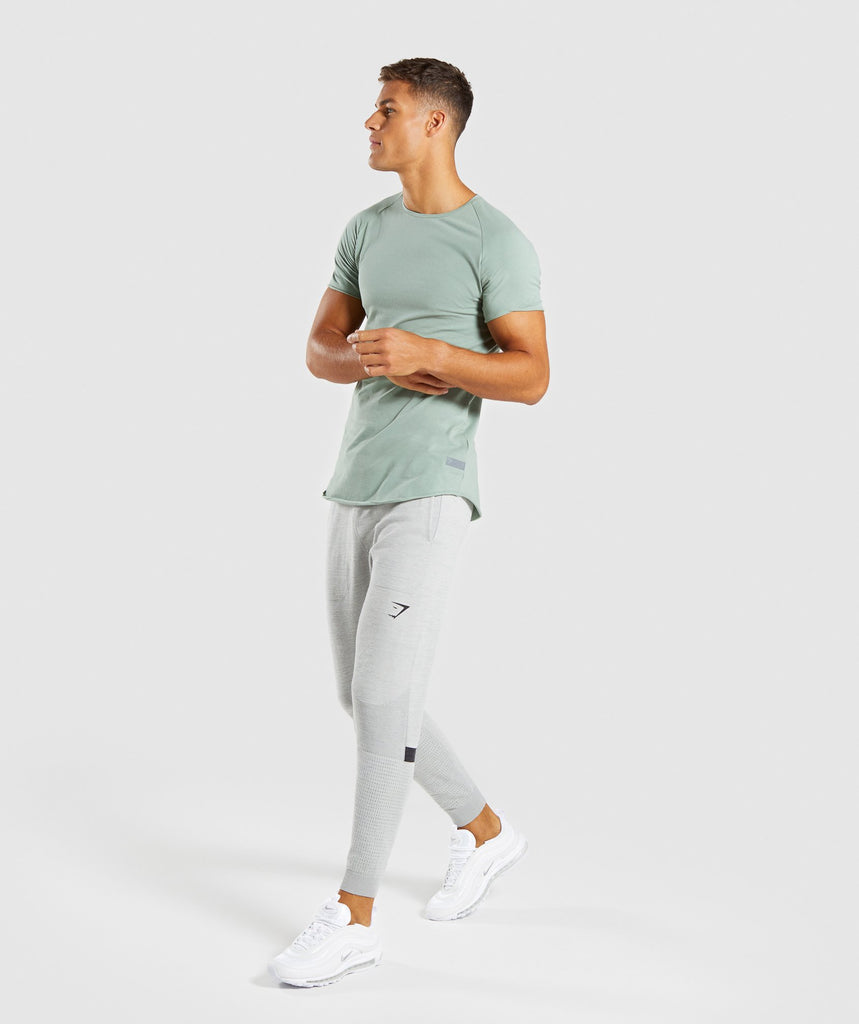 Gymshark Eaze T-Shirt - Pale Green 6