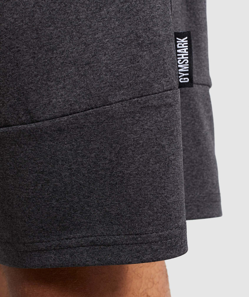 Gymshark Element Shorts - Black Marl 6