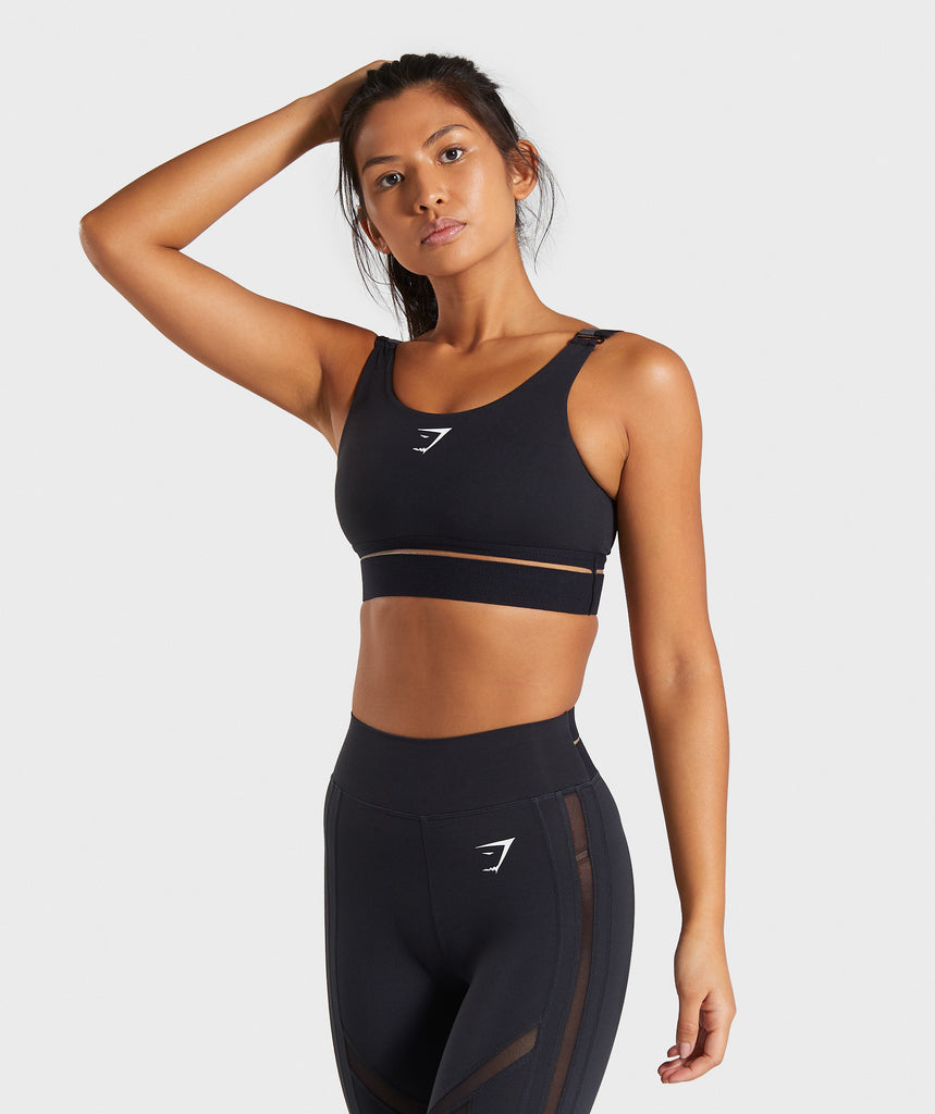 Gymshark Embody Sports Bra - Black 1