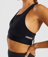 Gymshark Endurance Sports Bra - Black 12