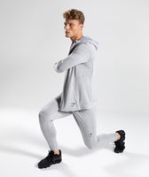 Gymshark Enlighten Zip Hoodie  - Light Grey 9