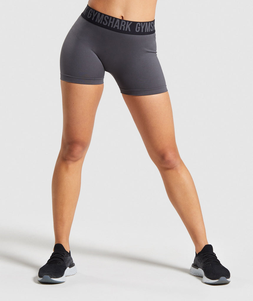 Gymshark Fit Shorts - Charcoal/Black 1