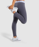 Gymshark Fit Leggings - Grey 9