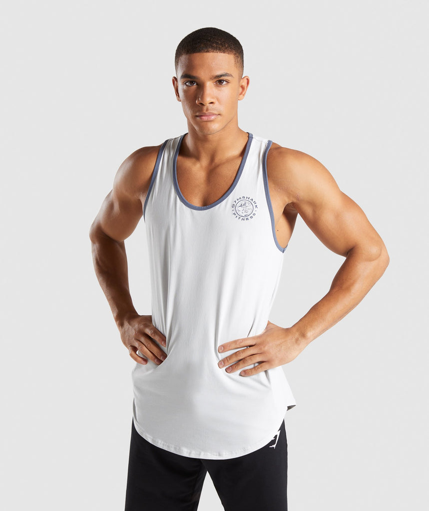 Gymshark Legacy Luxe Tank - Wolf Grey 1