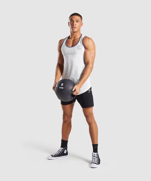 Gymshark Legacy Luxe Tank - Wolf Grey 3