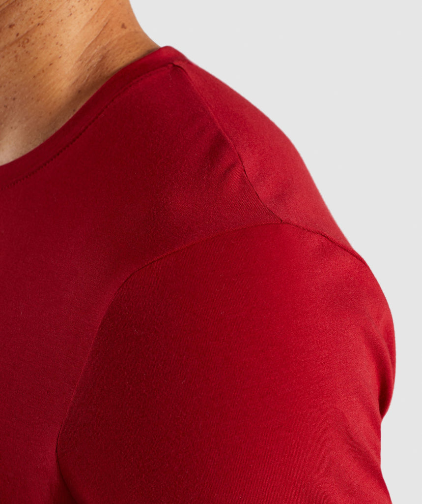 Gymshark Legacy T-Shirt - Full Red 6