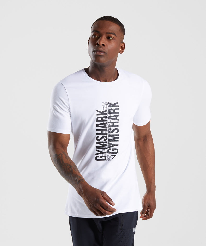 Gymshark Ascend T-Shirt - White 4