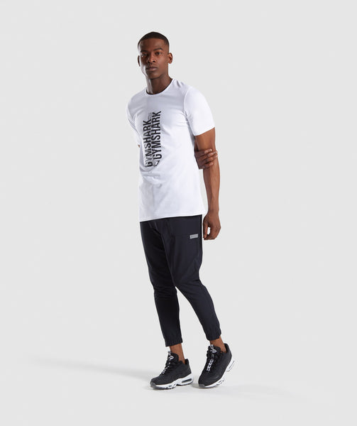 Gymshark Ascend T-Shirt - White 3
