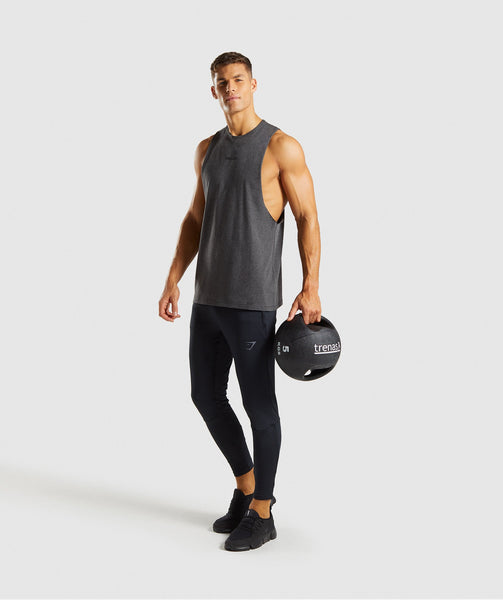 Gymshark Linear Tank - Charcoal Marl 3