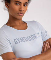Gymshark Apollo T-Shirt - Ice Blue 11