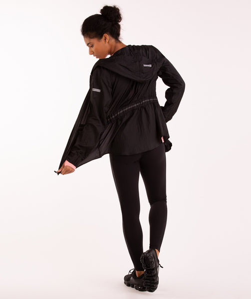 Gymshark Windbreaker Jacket - Black 3
