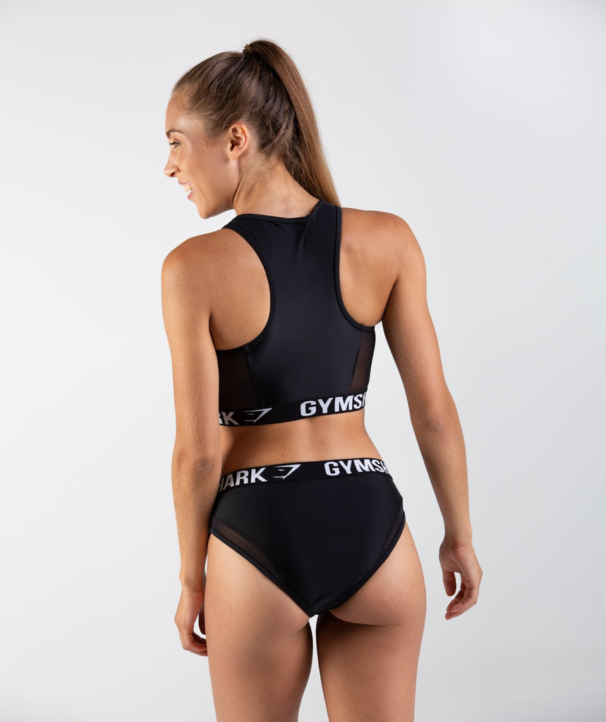 Gymshark Charge Sports Bikini Top - Black 2