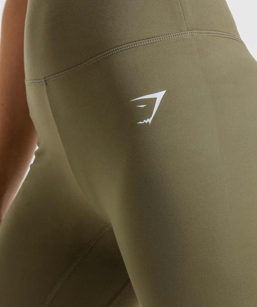 Gymshark Dreamy Leggings - Khaki 6