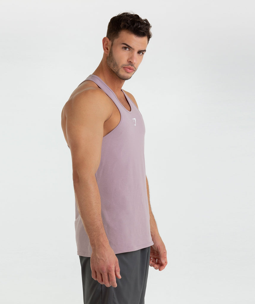 Gymshark Ion Stringer - Purple Chalk 1