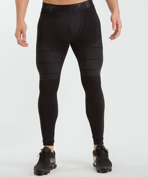 Gymshark Onyx Imperial Leggings - Black 4