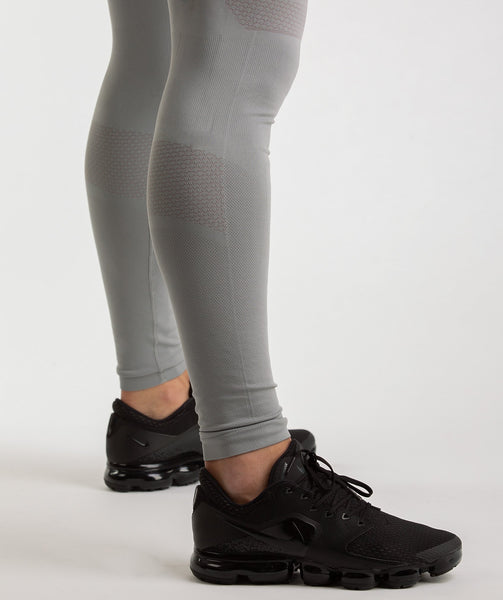 Gymshark Onyx Imperial Leggings - Light Grey 3