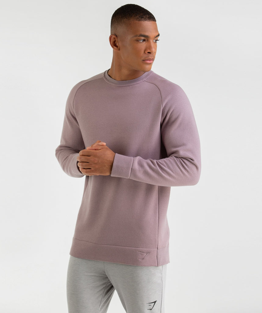 Gymshark Oversized Sweater - Purple Chalk 1