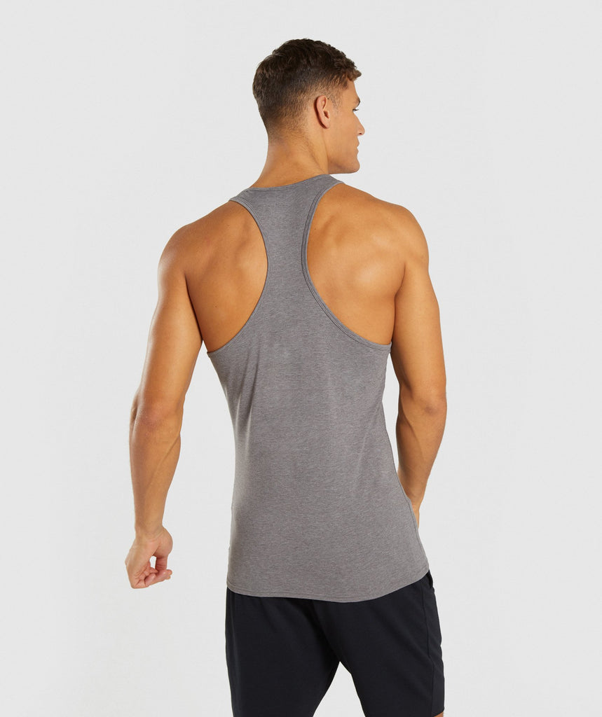 Gymshark Ion Stringer - Smokey Grey Marl 2