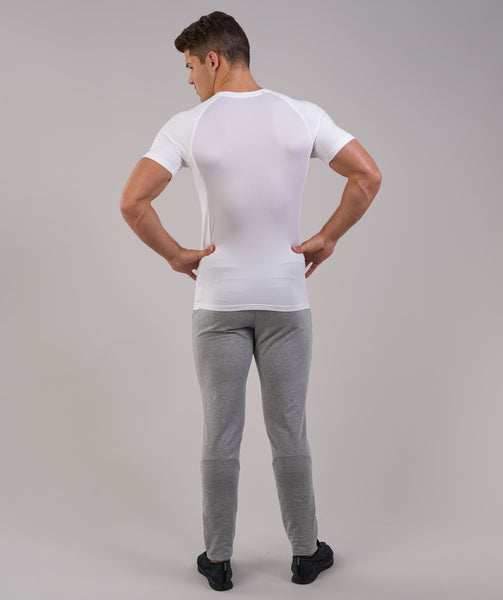 Gymshark Form T-Shirt - White 1