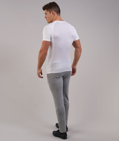 Gymshark Form T-Shirt - White 3