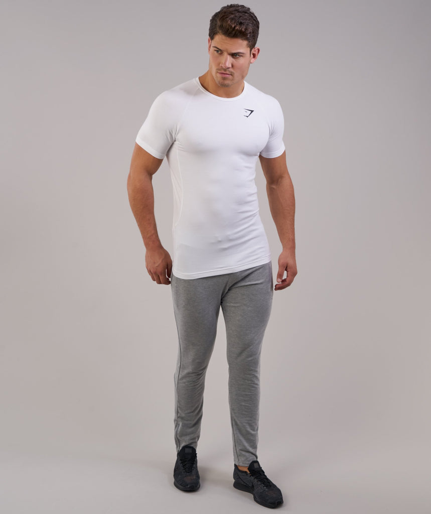Gymshark Form T-Shirt - White 4