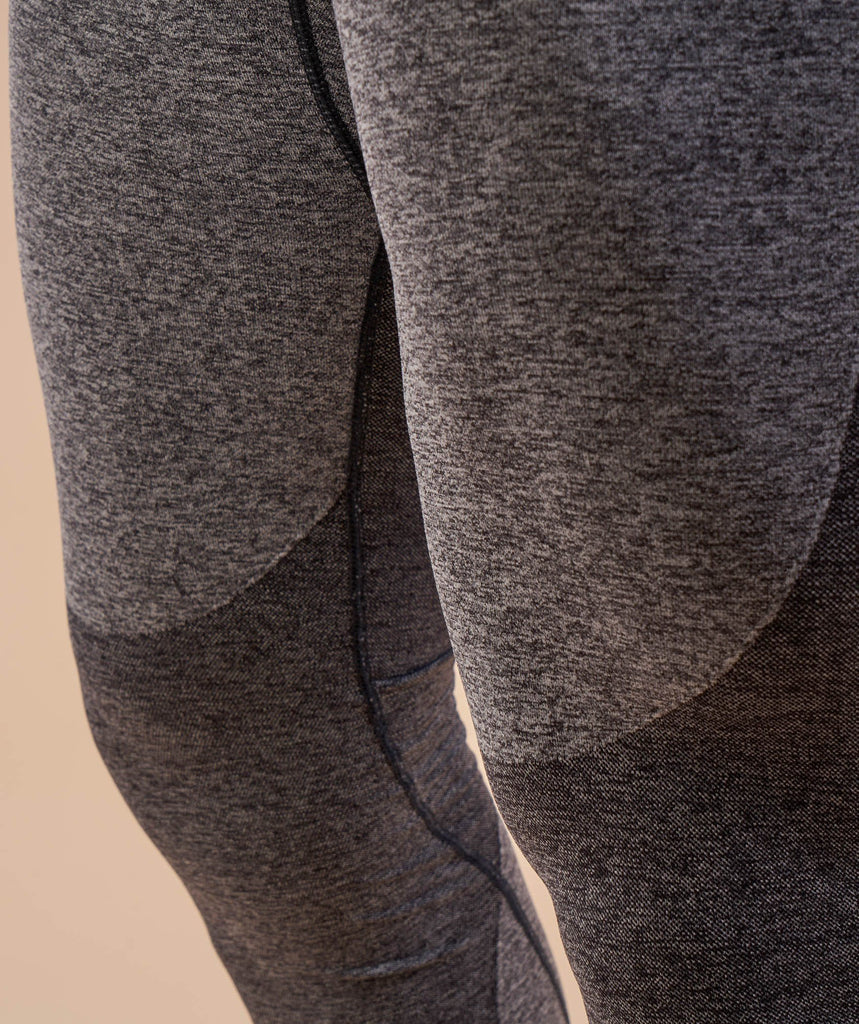 Gymshark Flex Leggings - Charcoal Marl 6