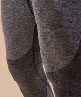 Gymshark Flex Leggings - Charcoal Marl 12