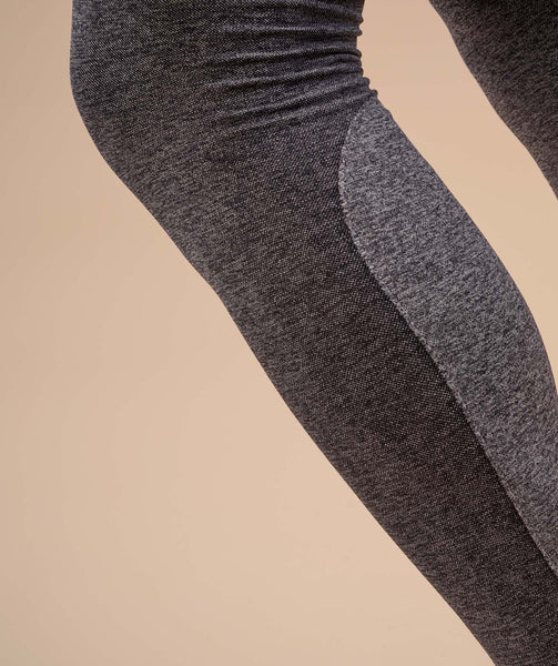 Gymshark Flex Leggings - Charcoal Marl 4