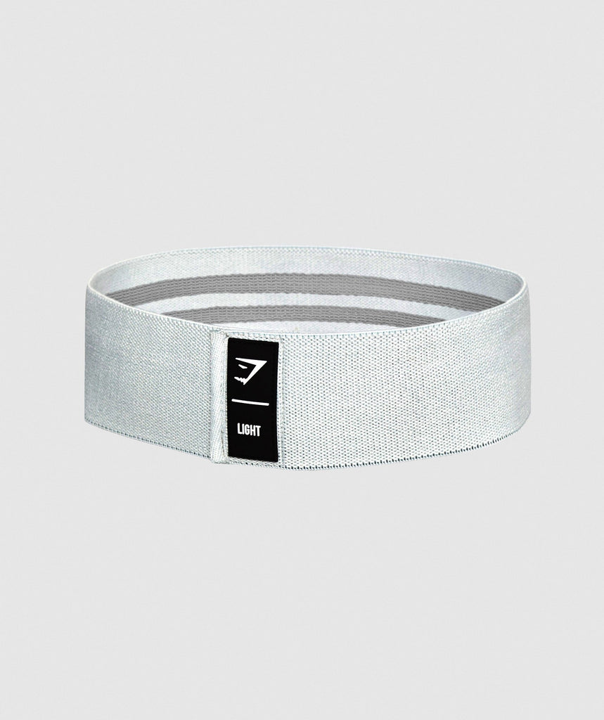 Gymshark Light Resistance Band - Light Grey 1