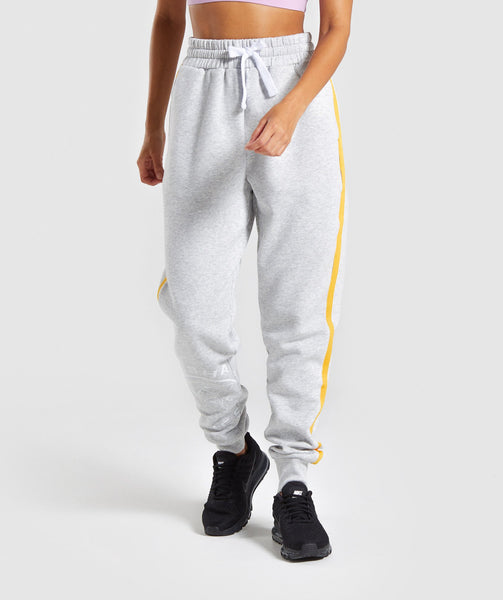 Gymshark Legacy Fitness Joggers - Light Grey 4