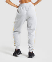 Gymshark Legacy Fitness Joggers - Light Grey 8