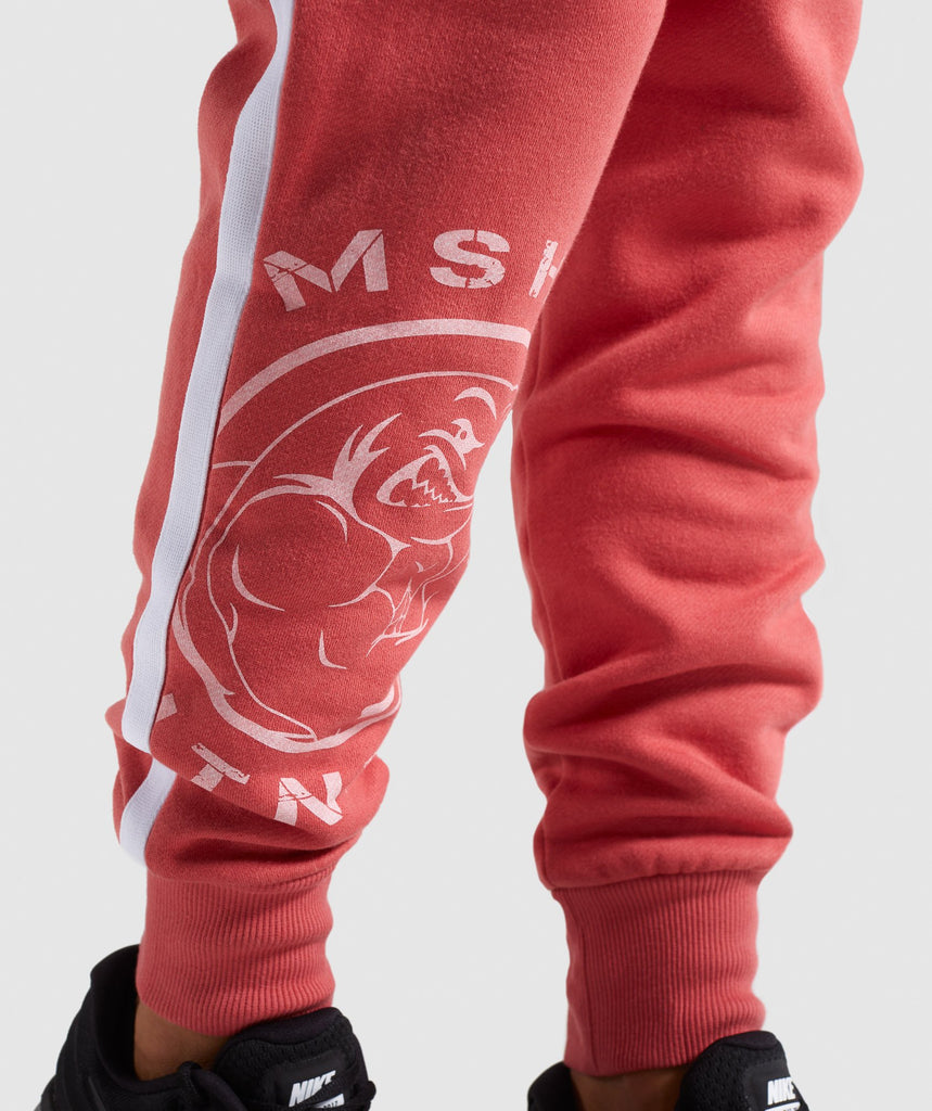 Gymshark Legacy Fitness Joggers - Brick Red 6