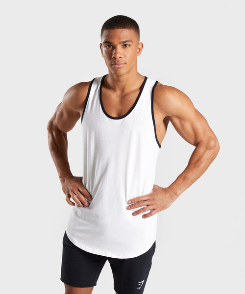 Gymshark Legacy Luxe Tank - Chalk White 4