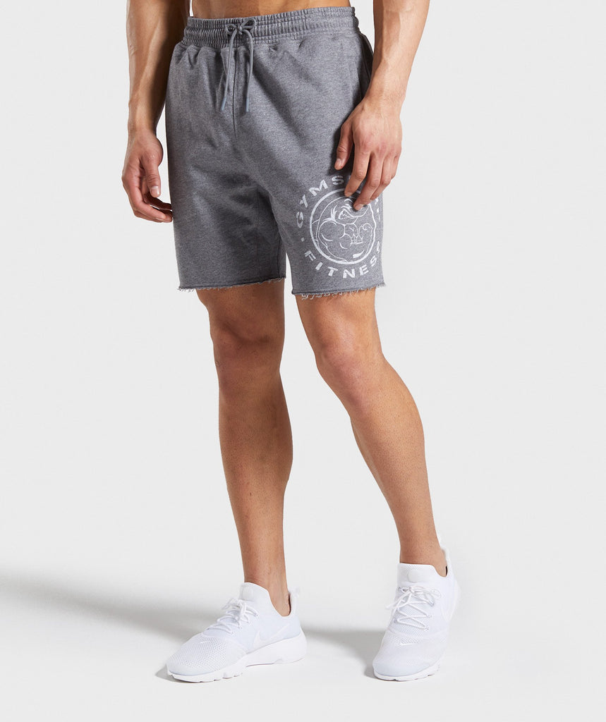 Gymshark Legacy Plus Shorts - Grey 1